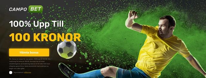 Campobet - Nytt spelbolag med svensk spellicens