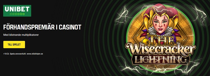 The Wisecracker Lightning hos Unibet